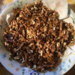 Pan coi Santi walnuts ingredient | Chef service