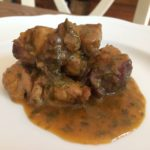 Stew in aromatic herbs | Chef service