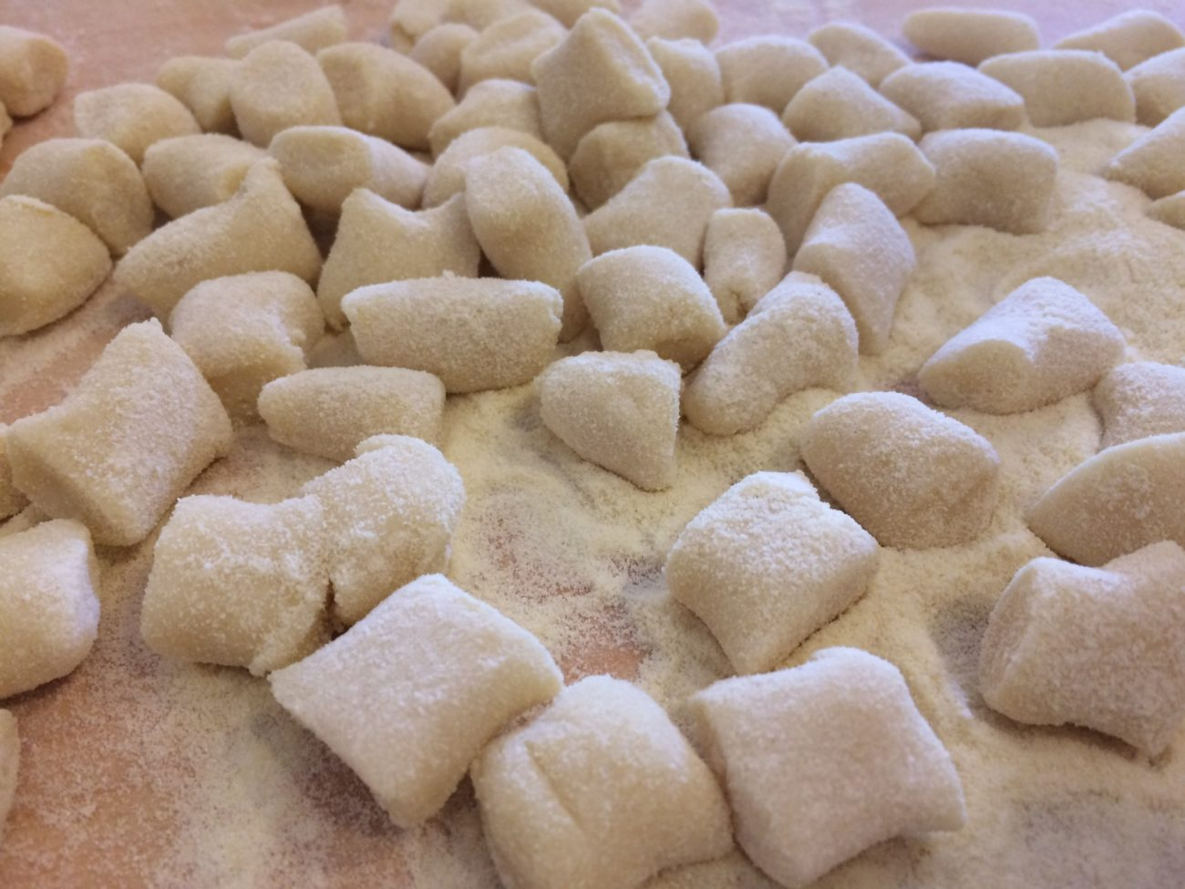 """""""Gnocchi"""" Potato dumplings"""